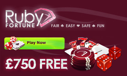 Ruby Fortune Casino promo
